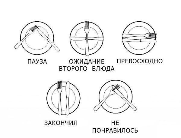 Правила поведения инженеров в ресторане. Как складывать вилку и нож? Инженерно-официантский словарь. Гуляй, образованщина!