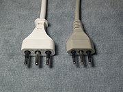 Тип L. Сводная таблица типов бытовых вилок, розеток, номинала питающего электрического однофазного напряжения и частоты сети по странам мира.